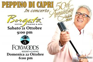 Peppino Di Capri (50th Anniversary) 23th October 2017